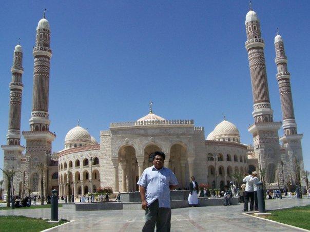 Narsis dulu ah... Suatu hari di Yaman.